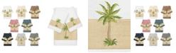 Linum Home Turkish Cotton Colton 3-Pc. Embellished Bath and Hand Towel Set