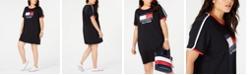 Tommy Hilfiger Plus Size Graphic T-Shirt Dress