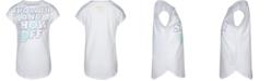Nike Little Girls Show Up & Show Off Logo T-Shirt