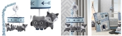 Lambs & Ivy Stay Wild Fox and Owl Musical Baby Crib Mobile