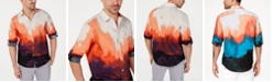 INC International Concepts INC Men's Tie Dyed Button Down Shirt, Created for Macy's