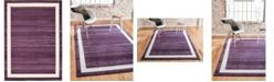 """Bridgeport Home Lyon Lyo5 Violet 8' x 11' 4"""" Area Rug"""
