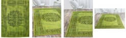 Bridgeport Home Linport Lin5 Sage Green 10' x 13' Area Rug