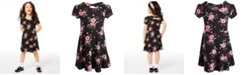 Epic Threads Toddler Girls Floral-Print Bow-Back Dress, Created for Macy's