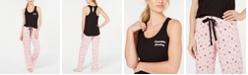 Jenni Sleep Keyhole Tank Top & Sleep Drawstring Pants