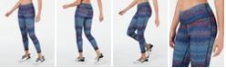 Ideology Chevron-Print Leggings, Created for Macy's