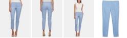 Tommy Hilfiger Cotton Slim-Leg Ankle Pants