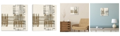 Artissimo Designs Matrix Illusion Ii Printed Canvas Art