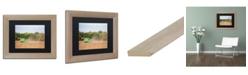 "Trademark Global Jason Shaffer 'John Deere' Matted Framed Art - 14"" x 11"""