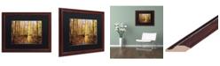 """Trademark Global Jason Shaffer 'Morgan Street' Matted Framed Art - 20"""" x 16"""""""