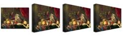 """Trademark Global Jan Davidsz de Heem 'Still Life' Canvas Art - 24"""" x 18"""""""