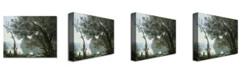 "Trademark Global Jean Baptiste Corot 'Souvenir of Montefontaine' Canvas Art - 32"" x 24"""