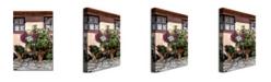 "Trademark Global David Lloyd Glover 'Storybook Cottage Carmel' Canvas Art - 47"" x 30"""