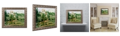 "Trademark Global Paul Cezanne 'Moulin de lad Couleuvre Pontoise' Ornate Framed Art - 16"" x 20"""