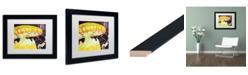 """Trademark Global Jennifer Redstreake 'Chattanooga Jelly Fish' Matted Framed Art - 11"""" x 14"""""""