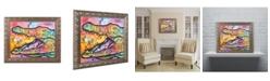 "Trademark Global Dean Russo 'Croc' Ornate Framed Art - 11"" x 14"""