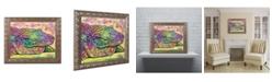"Trademark Global Dean Russo 'Crocodile' Ornate Framed Art - 16"" x 20"""