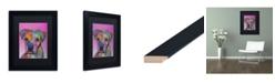 """Trademark Global Dean Russo 'Gertie Custom 1' Matted Framed Art - 11"""" x 14"""""""