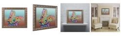 "Trademark Global Dean Russo 'Rigby Custom 3' Ornate Framed Art - 11"" x 14"""