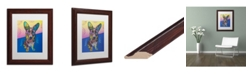 "Trademark Global Dean Russo 'Gracie' Matted Framed Art - 11"" x 14"""