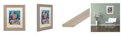 """Trademark Global Dean Russo 'Walter 12' Matted Framed Art - 11"""" x 14"""""""