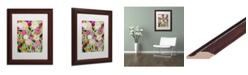 """Trademark Global Carrie Schmitt 'Natures Laugher' Matted Framed Art - 11"""" x 14"""""""