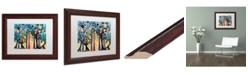 "Trademark Global Natasha Wescoat '026' Matted Framed Art - 11"" x 14"""