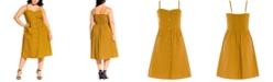 City Chic Trendy Plus Size Striped Dress