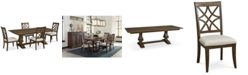 Trisha Yearwood Home Trisha Yearwood Trisha Dining Furniture, 5-Pc. Set (Expandable Table & 4 Side Chairs)