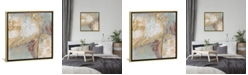 """iCanvas Gilded Circuit I by Jennifer Goldberger Gallery-Wrapped Canvas Print - 26"""" x 26"""" x 0.75"""""""