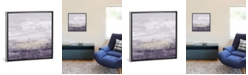 "iCanvas Amethyst Glitter Ii by Jennifer Goldberger Gallery-Wrapped Canvas Print - 18"" x 18"" x 0.75"""