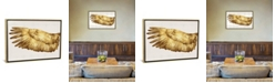 """iCanvas Golden Wing I by Kate Bennett Gallery-Wrapped Canvas Print - 26"""" x 40"""" x 0.75"""""""