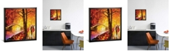 """iCanvas Dreaming Emotions by Leonid Afremov Gallery-Wrapped Canvas Print - 18"""" x 18"""" x 0.75"""""""