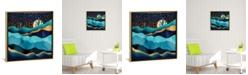 "iCanvas Indigo Desert Night by Spacefrog Designs Gallery-Wrapped Canvas Print - 26"" x 26"" x 0.75"""