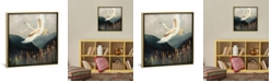 """iCanvas Elegant Flight by Spacefrog Designs Gallery-Wrapped Canvas Print - 37"""" x 37"""" x 0.75"""""""