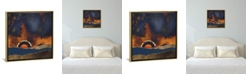 """iCanvas Before The Storm by Spacefrog Designs Gallery-Wrapped Canvas Print - 18"""" x 18"""" x 0.75"""""""