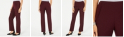 Style & Co Tummy-Control Pull-On Straight-leg Pants, Created for Macy's