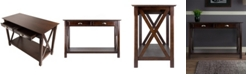Winsome Xola Console Table with 2 Drawers