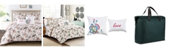 California Design Den 5-Piece Down Alternative Comforter Set, Full/Queen