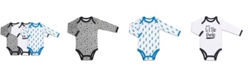 The Peanutshell Baby Boy Let's Play Long Sleeve Bodysuit 3 Pack Set