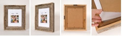 """Creative Gallery Rustic Reclaimed Barnwood 8.5"""" x 11"""" Picture Photo Frame"""