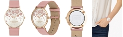 COACH Women's Perry Blush Leather Strap Watch 36mm