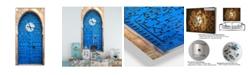 Designart Oversized Eclectic Metal Wall Clock