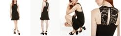 19 Cooper Lace-Back Flounce Dress