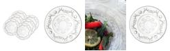 """La Rochere La Rochere Versailles 5.5"""" Diameter Bread Plate, Set of 6"""