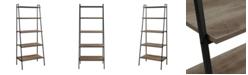 Walker Edison Modern Ladder Bookcase