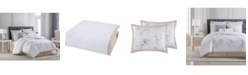 Charisma Riva Cotton Printed California King 4 Piece Comforter Set