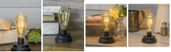 VIP Home & Garden Natural Decorative Light with Metal Base