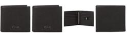 Polo Ralph Lauren Men's Pebble Leather Wallet