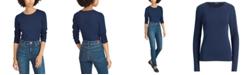 Lauren Ralph Lauren Petite Stretch Long-Sleeve T-Shirt